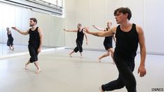 Mark Smith, professional choreographer, dancer and creator of the Deaf Men Dancing group