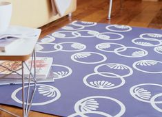 Make your own floor mat by adapting a printed design you love, and add a personal touch and graphic punch to any room.
