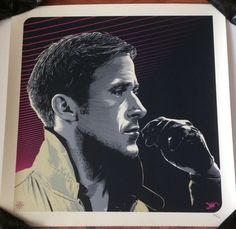 DRIVE Movie art print poster Ryan Gosling Only 50 Made! Jeff Boyes Scorpion Rare  | eBay