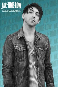 All Time Low Alex Gaskarth Poster - NEW & OFFICIAL | eBay . . . . . . . This is on my wall X3