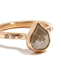 diamond slice engagement rings - Google Search
