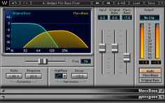 The bass boost heard on countless hit records and major motion pictures, MaxxBass® bass enhancer plugin creates rich low frequencies using psychoacoustic technology. Recording Studio Home, Home Studio Music, Waves Audio, Music Software, Studio Setup, Studio Design, Noise Reduction, No Response, The Unit