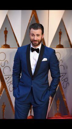 Chris Evans. Oscars 2017.