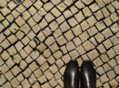 Footnote: Dreamwalking in Rossio Square - Pinay Traveller Character Shoes, Portugal, Dance Shoes