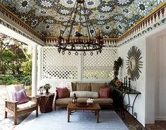 I could have this patio - Moroccan