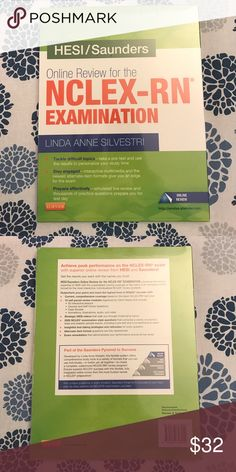 NCLEX-RN Review Course Was required to purchase for school, and never used. Sealed with Plastic as pictured, redemption code is inside. Accessories