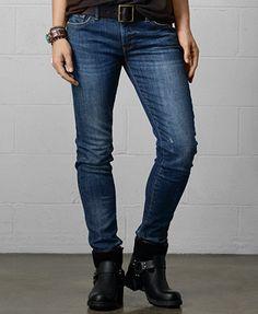 Denim & Supply Ralph Lauren Skinny Jeans, Bayfest Wash