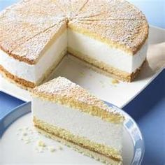 German Kase-Sahne Kuchen  German no bake cheese cake
