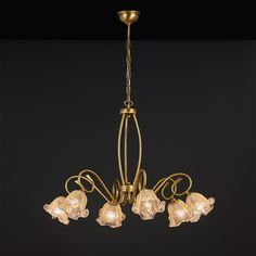 Classic chandelier Classic chandelier of the VIKOS collection Designed and produced in Athens, Greece by MAVROS Lighting factory. Glass Material, Fashion Lighting, Brass Color, Classic Style, Chandelier, Bulb, Ceiling Lights, Crystals, Glass Supplies