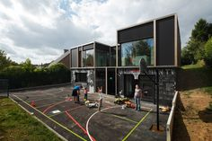 Passive House with Textile Skin,© Stijn Bollaert