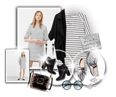 """""""Two Faced"""" by elona-makavelli ❤ liked on Polyvore featuring MANGO, Loeffler Randall, Pierre Hardy, Alexis Bittar, Edge of Ember, Tom Ford and Lanvin"""