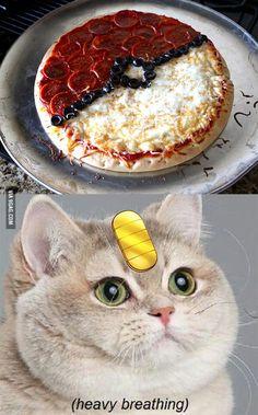 Pokeball Pizza! Please can we make this?? @catherine gruntman Gosztonyi