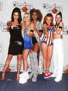 Spice Girls in MTV Video Music Awards '97 and this is their fashion style this time!