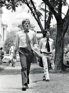 Redford and Hoffman, All the President's Men (1976)