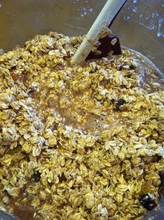 Baked Oatmeal - add brewers yeast and flaxseed!