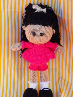 Tranlsate to English-Muñeca Candy Doll Amigurumi - Patrón Gratis en Español más fotos aquí: http://awesomeneedles.blogspot.com.es/2015/01/muneca-amigurumi.html  - Patrón aquí: http://awesomeneedles.blogspot.com.es/2015/01/patron-gratis-muneca-amigurumi-askina.html