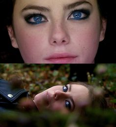 This is sorta how I pictured my main character, especially the dazzling blue eyes.