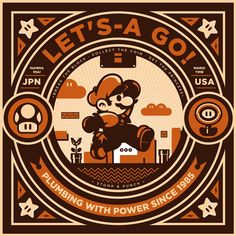 Here's a great art show tribute to video games at Hero Complex Gallery. As usual, lots of awesome artworks and artists, some from website Geek-Art Super Mario Brothers, Super Mario Bros, Super Nintendo, Mundo Super Mario, Geek Mode, Idee Baby Shower, Retro Videos, Retro Video Games, Geek Art