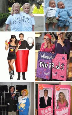 need some last minute costume ideas? 25 couple costume ideas, and not just romantic couples!