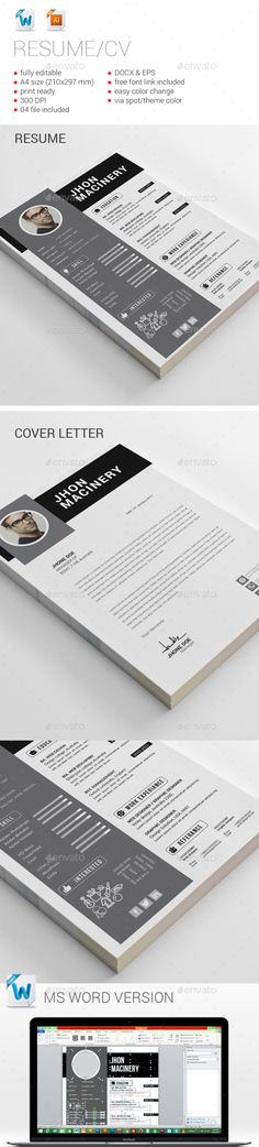 #Resume - Resumes Stationery Download here: https://graphicriver.net/item/resume/17689825?ref=alena994