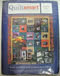 Quiltsmart Classic Quilts Modern Methods Memory Box From Quiltsmart NEW not used #Quiltsmart