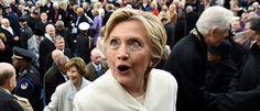 WASHINGTON, DC - 20 de enero: El ex candidato a la presidencia de Estados Unidos Hillary Clinton deja después de la inauguración presidencial en el Capitolio de los Estados Unidos el 20 de enero, 2017 Washington, DC.  Donald J. Trump se convirtió en el presidente 45 de Estados Unidos en la actualidad.  (Foto por Saul Loeb - Pool / Getty Images)