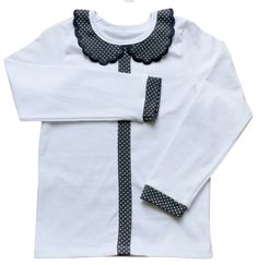 Biała bluzka z kołnierzykiem cz Fashion, Tunic, Moda, Fashion Styles, Fashion Illustrations