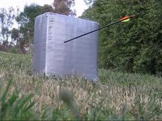 How to make an Archery Target for $3 that works! - YouTube