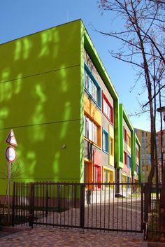 "Architecture. ""Comfort Town"" kindergarten. Concept adaptation. Kyiv, Ukraine."