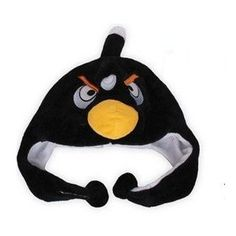 Angry Birds Hat :D --- My good buddy. Good Buddy, Angry Birds, I Am Awesome, Plush, Cosplay, Toys, Hat, Top Rated, Black