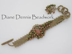 This is a beginning to intermediate level beading project. This is a great next beading project once you have learned the basic peyote