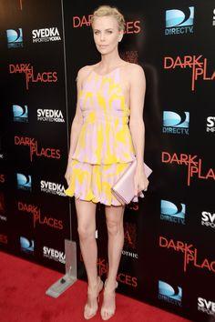 Charlize Theron in Dior Resort 2016 - Dark Places premiere, LA - July 21 2015