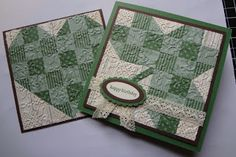 Quilted heart and shamrock tutorial