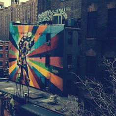 NYC Street Art. Photo: libertyandfox