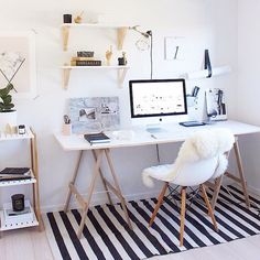 I bet you can not find a more gorgeous workplace than that if Michelle Halford aka @thedesignchaser  You here me! I double dare ya! | #inspo  #interior #inredning #interiordecor #interiordesign #office #kiwi #style #homedecor #homeinspo #haydesign