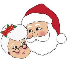 mrs claus clipart holiday misc pinterest rh pinterest com mrs. claus clipart images mrs. claus clipart black and white