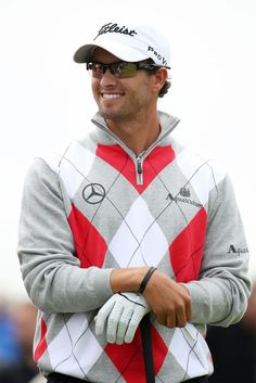 Adam Scott (golfer) - 141st Open Championship - Round One 07/19/12
