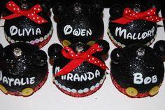 DIY Mickey head Christmas Ornaments
