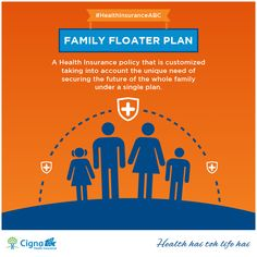 A family floater policy covers more than one member of a family for a fixed sum assured against the payment of a single annual premium. Each member covered in the family health insurance plan can make a claim, and multiple claims can be entertained in a year. Such plans work on the assumption that the likelihood of all the members of a family falling ill during a single policy year is low.