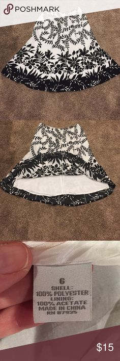 Nice skirt Nice and cool,  built in liner Dress Barn Skirts A-Line or Full