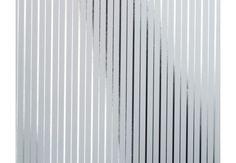 Mønstret tapet - Architects Paper ikke-vævet, krom, metallisk, hvid