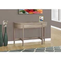Reclaimed Wood 1-Drawer Console Table