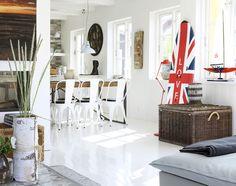 Få inspiration til indretning af dit sommerhus med denne skønne boligreportaget fra Skagen.