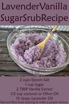 Lavender Vanilla Sugar Scrub Recipe- Diy Body Scrub Take our skin type quiz and let us create your custom moisturizer made in California! roseandabbot.com