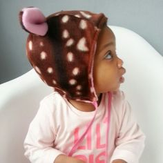This too sweet bambi hat, i bought for my little girl, was made bij @yetyvette. Her brand name is Peppellota