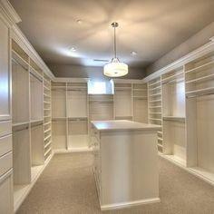 The perfect size dream closet.  14'x19'.