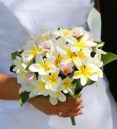 bouquet mariage theme hawai