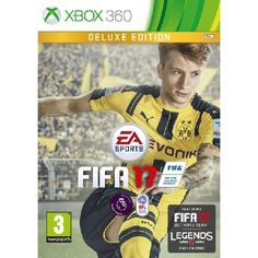 FIFA 17 Deluxe Edition Xbox 360 Game Pre-Order Offer Includes FIFA 17 Full Game Xbox 360 20 FIFA Ultimate Team Jumbo Premium Gold Packs (Delivered 1 per week over 20 weeks) 3-Match Team of the Week FUT Loan Players (Up to 1 per week over http://www.MightGet.com/january-2017-13/fifa-17-deluxe-edition-xbox-360-game.asp
