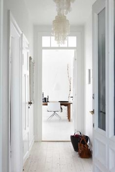 I swear my next house Will be all shades of whites/off whites with pops of color.   Its so crisp, clean and relaxing!