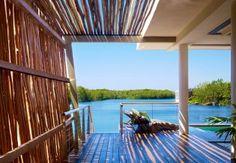 Eco-chic resorts on the Yucatan Peninsula - Houston Chronicle A room with a view at the Rosewood Mayakoba. Photo by: Mayakoba resorts